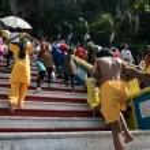 Thaipusam festival in Batu Caves, Kuala Lumpur, Malaysia. — Stock Photo #64523309