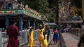 Thaipusam festival in Batu Caves, Kuala Lumpur, Malaysia. — Stock Photo
