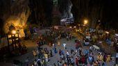 Thaipusam at Batu Caves, Kuala Lumpur, Malaysia. — Stock Photo