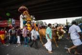 Thaipusam festival at Batu Caves, Malaysia — Zdjęcie stockowe