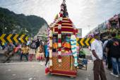 Thaipusam festival at Batu Caves, Malaysia — Stock Photo