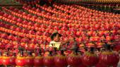 Lanterns at Thean Hou Temple — Fotografia Stock
