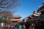浅草寺 (浅草观音寺) 位于浅草,东京. — 图库照片