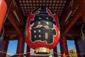 在日本,在东京浅草寺 (浅草观音寺 — 图库照片