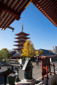 Sensoji (Asakusa Kannon Temple) located in Asakusa,Tokyo. — Stock Photo