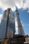 Tokio skytree — Stock fotografie