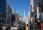 Tokyo city, streets, shopping and tourism — Stock Photo