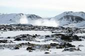 Geothermal energy, Iceland — Stock Photo