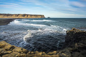 Sea-cliffs of Dyrholaey, Iceland — Stock Photo