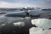 Gletscher in Island im winter — Stockfoto