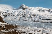 Svinafellsjokull Glacier, Iceland — Stock Photo