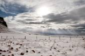 Iceland during winter — Stock Photo