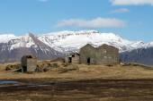 Farm house, Iceland — 图库照片