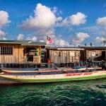 Sea gypsy boats moor — Stock Photo #72529457