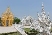 Wat Rong Khun temple in Chiang Ma — Stock Photo