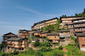 Multi-storey wooden buildings in Guangxi — ストック写真