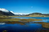 Scenic landscape of southern Iceland — Stock Photo