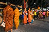 Nicht identifizierter buddhistische Mönche — Stockfoto