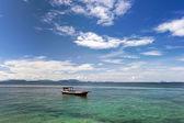 Sea gypsy's fishing boat — Stock Photo