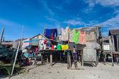 Sea gypsy house — Stock Photo