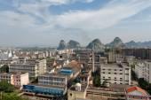 Guilin cityscape China — Stock Photo