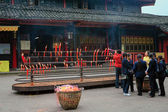 Buddhist temple in Sichuan, China — Zdjęcie stockowe