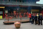 Buddhist temple in Sichuan, China — Stockfoto