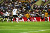 Calcio Tottenham Hotspur vs Malesia — Foto Stock