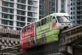 Kuala Lumpur Monorail — Stock Photo