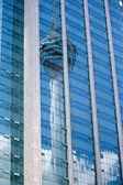 Kuala Lumpur KL Tower reflections — Stock Photo