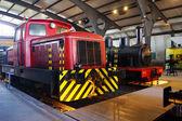 Trains d — Stok fotoğraf