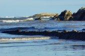 Beach and rocks — Stock Photo
