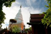 Wat Phra That Doi Hang bowl,Lamphun — Stock Photo
