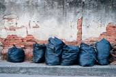 Garbage bags. — Stock Photo
