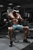 Handsome muscular man — Stock Photo