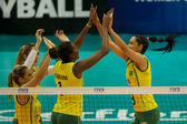 Vrouwen fivb world grand prix 2014 — Stockfoto