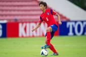 U-16 афк чемпионат таиланд 2014 — Стоковое фото