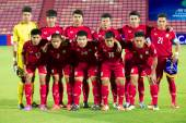 AFC U-16 Championship Thailand and Malaysia — Stockfoto