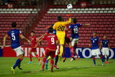 AFC U-16 Championship Thailand and Malaysia — Stock Photo