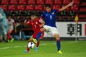 AFC U-16 Championship Thailand and Malaysia — Stock Photo