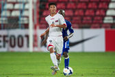 AFC U-16 Championship between Kuwait and DPR Korea — Stock Photo