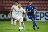 Campeonato sub-16 afc entre kuwait y rpd corea — Foto de Stock