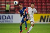 AFC U-16 Championship between Kuwait and DPR Korea — Foto de Stock