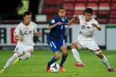 AFC U-16 Championship between Kuwait and DPR Kore — Stock Photo