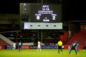 AFC U-16 Championship between Kuwait and DPR Korea — Stock Photo