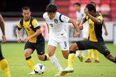 Afc u-16 campionato Repubblica di Corea e Malesia — Foto Stock