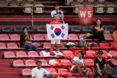 AFC U-16 Championship Korea Republic and Malaysia — Stock Photo