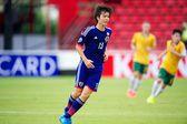AFC U-16 Championship between Australia and Japan — Stock Photo
