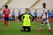 Afc u-16 championship zuid-korea en syrië — Stockfoto
