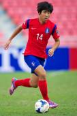 AFC U-16 Championship Korea Republic and Syria — Stockfoto